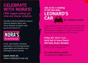 Leonard's Car postcard